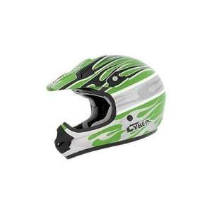 Visor for UX 31C Helmet, Green/White/Silver Blaze 640176 Automotive