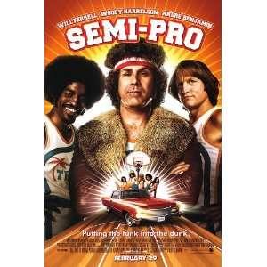 Semi pro, Original 27x40 Single sided (FOIL) Regular Movie