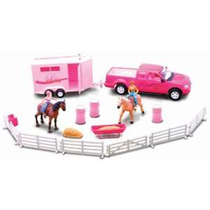 Pink Riding Academy Deluxe Playse 132 Scale Classic Funime Horse