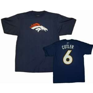 Jay Cutler Denver Broncos NFL Player T Shirt: Sports