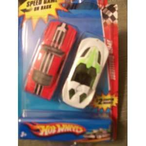 Hot Wheels 2 Pack Speed Challenge ~ 2010 Ford Mustang Fastback & Yur