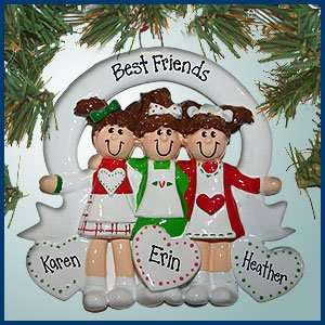 Sisters/Best Friends 3   Personalized with Perfect Handwriting Home