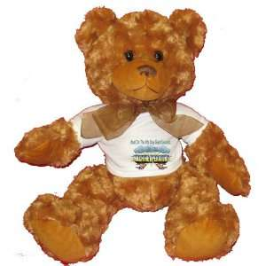 And On The 8th Day God Created MACHINE OPERATORS Plush Teddy Bear with