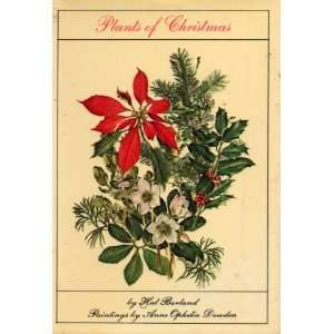 Plants of Christmas Hal Borland and Anne Ophelia Dowden Books