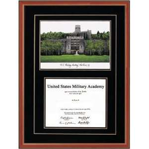 Military Academy Diploma Frame  Home & Kitchen