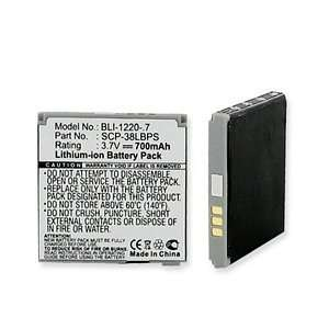 Battery for Sanyo SCP 6780, Innuendo Cell Phones & Accessories