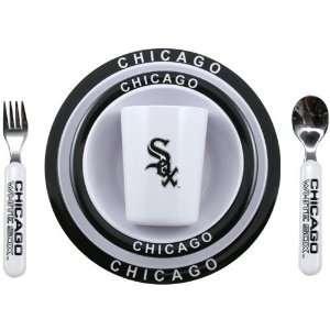 Chicago White Sox 5 Piece Little Sports Dinner Set