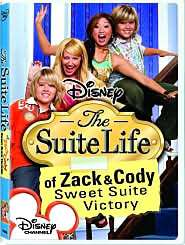 of Zack & Cody   Sweet Suite Victory starring Dylan Sprouse: DVD Cover