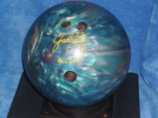 RETRO BRUNSWICK GALAXIE 300 12 POUND LB BOWLING BALL