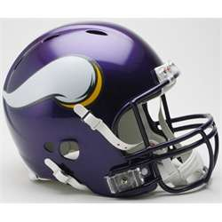 Minnesota Vikings Full Size Riddell Football Helmet