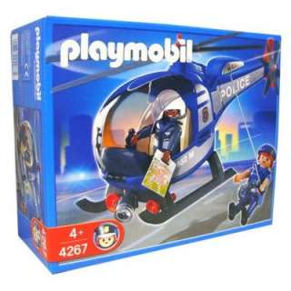 PLAYMOBIL Police 4267 Police Helicopter