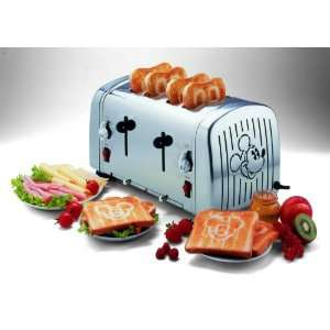 Disney Ariete 4 Fach Toaster Mickey mit Signalfanfare .co.uk