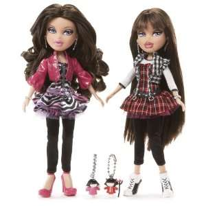 Bratz Twins Phoebe & Roxxi Sugar Spice Doll Set with Earrings and