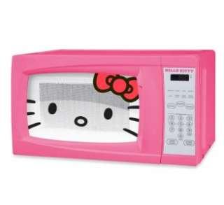NEW Hello Kitty 0.7 Cubic Feet 700 Watt Preprogrammable Microwave MW