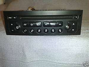 Peugeot 206 307 Citroen C2 C3 CD Player VDO RD3