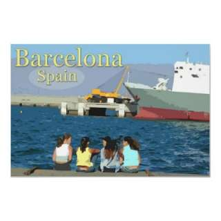 Travel Barcelona, Spain Posters from Zazzle