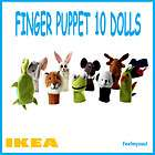 Ikea Titta Folk finger puppet 10dolls toy for kids