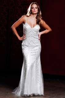 2011 Nina Canacci BEADED Prom / Pageant Wedding Dress
