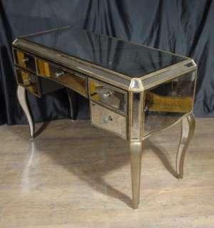 Art Deco Mirrored Dressing Table Writing Desk