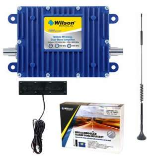 Wilson 801212 40dB In Vehicle Wireless Dual Band Mobile Amplifier Kit