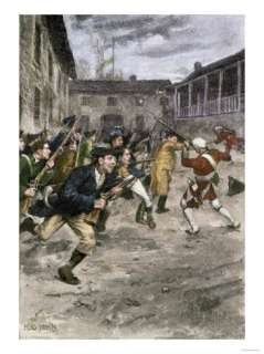 of Fort Ticonderoga by Ethan Allen and the Green Mountain Boys, c.1775