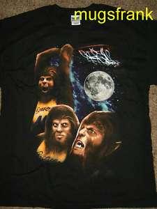 New Teen Wolf Michael J Fox Movie Full Moon T Shirt
