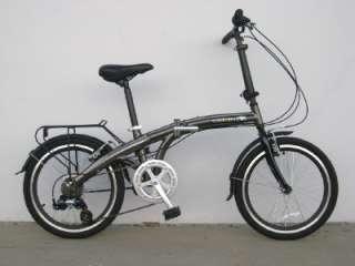 20ALLOY FOLDING BIKE BICYCLE SHIMANO ADULT MEN 7 SPEED