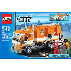 LEGO City   Recycling Truck: Vehicles, Trains & Remote Control