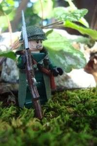 LEGO CUSTOM LEGO MINIFIG U.S. ARMY KOREAN WAR RIFLEMAN RARE