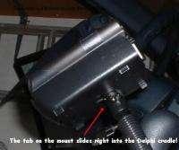 Seat Bolt Mount for XM Onyx X Mirge Xpress RC R EZ XCS9 Xi Radio