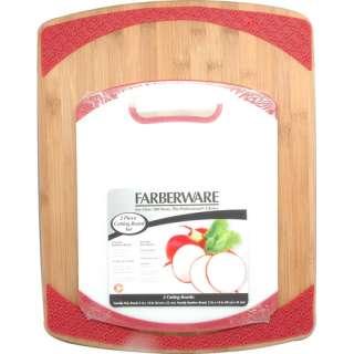 Farberware 2 Piece Bamboo/Poly Cutting Board Set Appliances