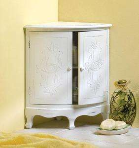 Corner Curio Cabinet Organizer Storage Bathroom Home Decoration