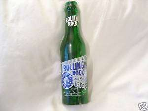 ROLLING ROCK BEER KEG TAP KNOB GREEN PLASTIC BOTTLE