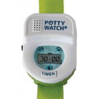 Kids Toddler Potty Time Watch Toilet Training Aid Green
