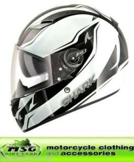 SHARK Vision R Reveal Motorcycle Helmet Black/Pearl L