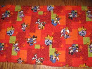 Handmade Halloween Table Runner Disney Mickey Mouse