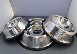 Stainless Steel Dish Bowl Non slip For Dog/Cat~