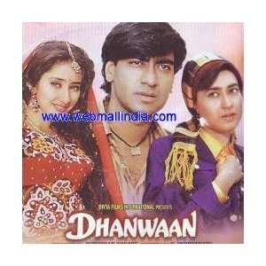 Dhanwaan Ajay Devgan, Kader Khan, Shakti Kapoor, Karishma