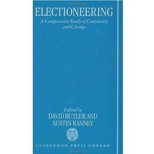 and Change (9780198273752) David Butler, Austin Ranney Books