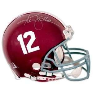Ken Stabler Signed Alabama Pro Helmet