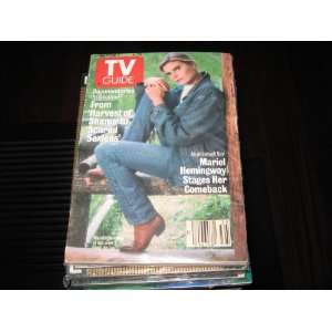 TV Guide (Mariel Hemingway as israeli Spy , Documentaries In Decline