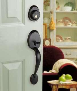 Front Door Entry Set Lock Oil Rubbed Bronze Lever LH 661799877329