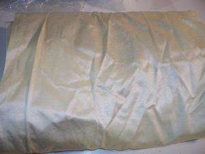 Signature Faux Silk Taffeta Curtain Panel 84 inch Cream