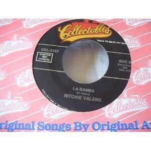 la bamba / donna 45 rpm single RITCHIE VALENS Music