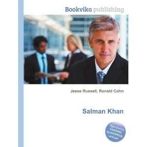 Salman Khan Ronald Cohn Jesse Russell Books