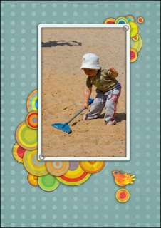 PHOTO CARDS 5x7 KIDS   Photoshop Templates DOWNLOAD