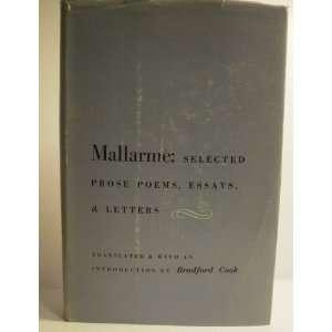 Mallarmé Selected Prose Poems, Essays & Letters Stéphane Mallarmé