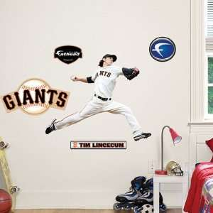 Tim Lincecum Pitcher San Francisco Giants Fathead Jr. NIB