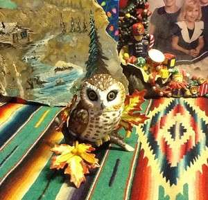 Lenox Whet Owl Garden Bird Collection Fine Porcelain Figurine Boxed