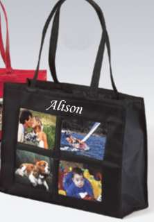 Photo Tote Bag Personalized Brag Teacher Mothers Day